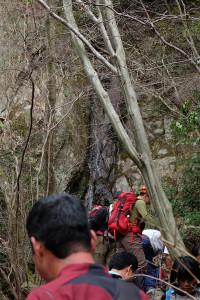 一般的に難所ヶ滝って言われてるのは通称で本当の難所ヶ滝はこっちなんですよ的な案内